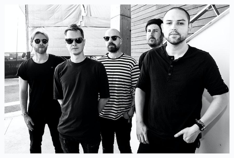 A press shot of the band The Twilight Sad
